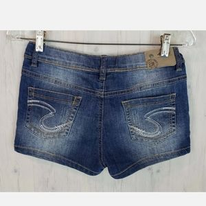 Silver Jeans Lacy Jean Shorts Girl's Size 16 XL